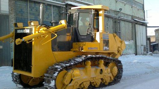 Заказать аренду бульдозера Komatsu D275A-5 в Москве